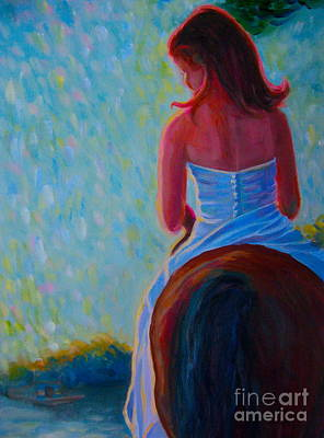 Painting - Honeymoon Ride 2 by Gretchen Allen