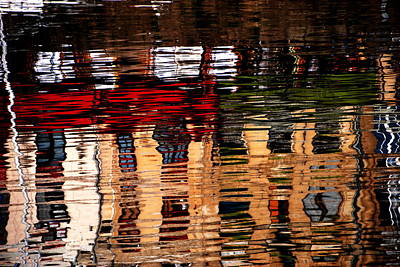 Photograph - Honfleur Abstract by Jacqueline M Lewis