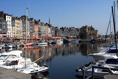 Photograph - Honfleur By The Seine by Aidan Moran