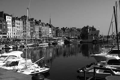 Keith Richards - Honfleur Harbour by Aidan Moran
