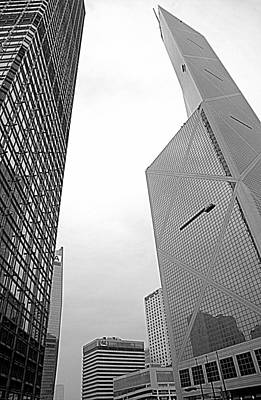 Photograph - Hong Kong Architecture by Valentino Visentini