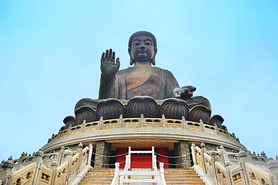 Photograph - Hong Kong Buddha by Songquan Deng