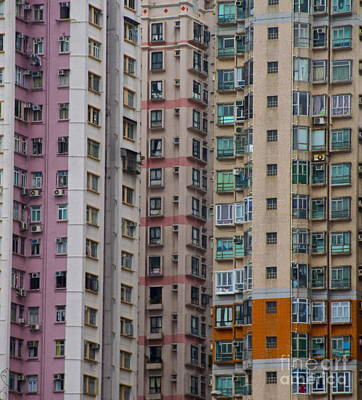Hong Kong Buildings  Art Print