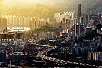 Photograph - Hong Kong Curves by Ratnakorn Piyasirisorost