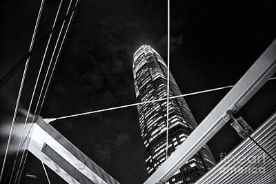 Hong Kong Photograph - Hong Kong High Skyscraper by T Lang