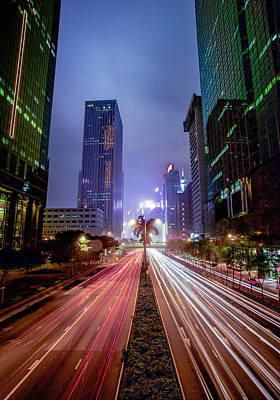 Art Print featuring the photograph Hong Kong Highway by Robert  Aycock