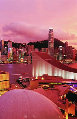Photograph - Hong Kong Island Skyline, Victoria by Richard I'anson