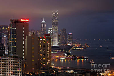 Hong Kong Art Print by Lars Ruecker
