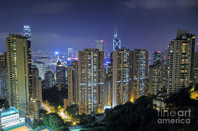 Photograph - Hong Kong Mid Levels by Charline Xia