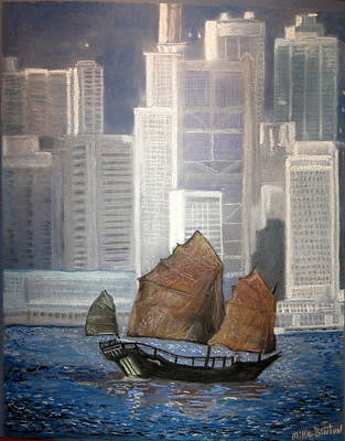 Pastel - Hong Kong by Mike Benton