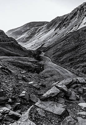 Photograph - Honister Pass From The Slate Mine by Stuart Gennery