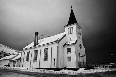 Honningsvag Kirke Church Finnmark Norway Europe Art Print by Joe Fox