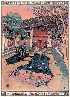 Honolulu Academy Of Arts Art Print by Jack Adams