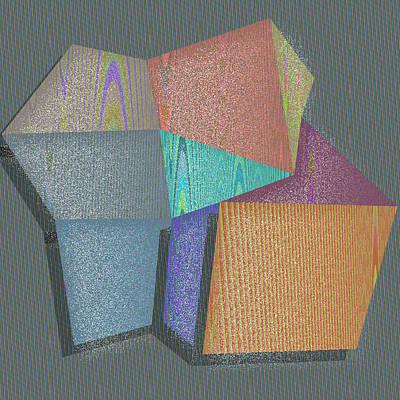 Texture Digital Art - Honolulu by Gareth Lewis