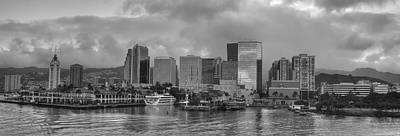 Honolulu Photograph - Honolulu Harbour by Sean  James G