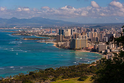 Photograph - Honolulu by Harry Spitz