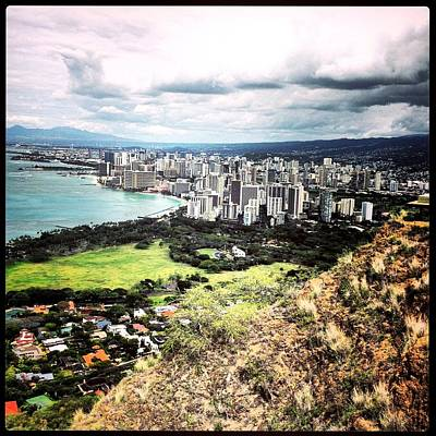 Photograph - Honolulu Hawaii by Gary Smith