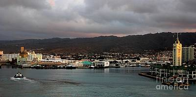 Photograph - Honolulu Port by Elizabeth Winter