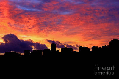 Photograph - Honolulu Skyline by Deanna Proffitt