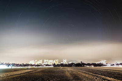 Photograph - Honolulu Star Trails by Jason Chu