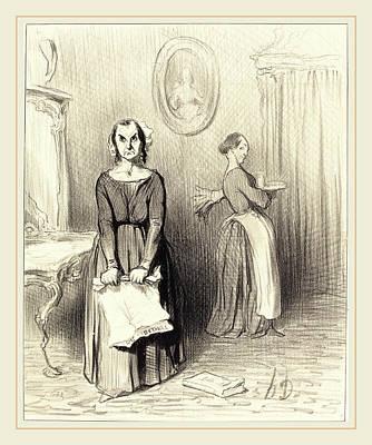 Honoré Daumier French, 1808-1879, Ce Journal Trouve Mon Art Print