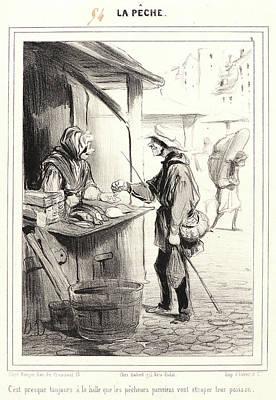 Honoré Daumier French, 1808 - 1879. Cest Presque Toujours Art Print