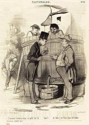 Honoré Daumier French, 1808 - 1879, Comment Trouvez-vous Art Print by Quint Lox