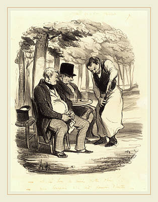 Honoré Daumier French, 1808-1879, Est-il Bon Art Print
