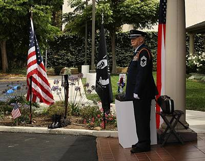 Photograph - Honor Guard by Michael Gordon