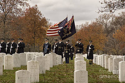 Photograph - Honor Guard by Terry Rowe
