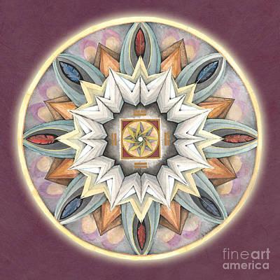 Mandala Painting - Honor Mandala by Jo Thomas Blaine