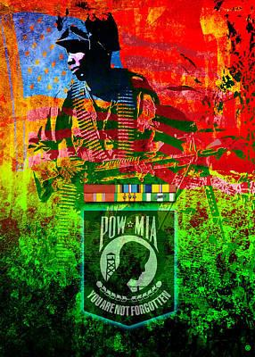 Digital Art - Honor Vietnam by Gary Grayson