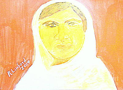 Taliban Painting - Honoring Malala Yousafzi's Nobel Peace Prize - Shot By Taliban For Championing Schooling For Girls 2 by Richard W Linford