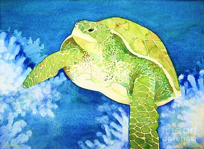 Painting - Honu by Frances Ku