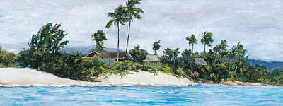Haleiwa Painting - Honu's View by Stacy Vosberg