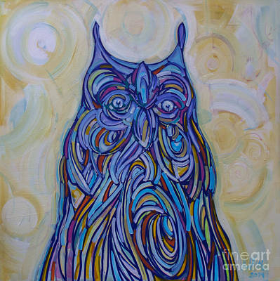 Painting - Hoo Are You? by Michael Ciccotello