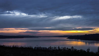 Photograph - Hood Canal Sunset  by Ronda Broatch