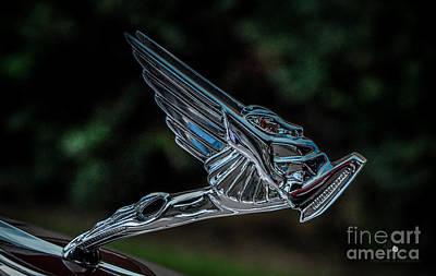 Photograph - Hood Ornament 10 by Ronald Grogan