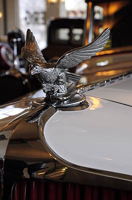 Photograph - Hood Ornament 1929 Cord L-29 by Gene Sherrill