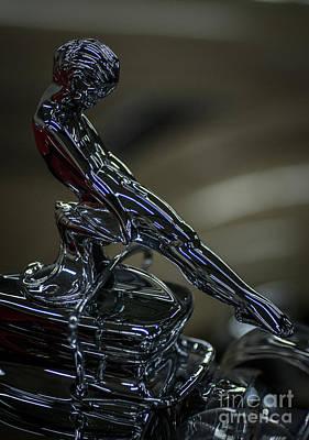 Photograph - Hood Ornament 4 by Ronald Grogan