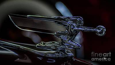 Photograph - Hood Ornament 5 by Ronald Grogan