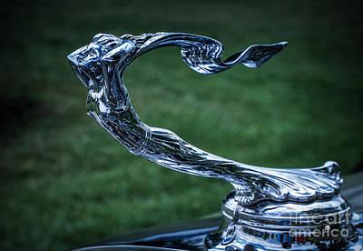 Photograph - Hood Ornament 6 by Ronald Grogan