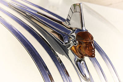 Photograph - Hood Ornament by Jeanne Hoadley