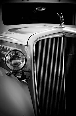 Photograph - Hood Ornamnet by Mickey Clausen