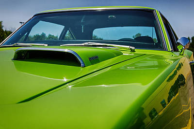 Photograph - Hood Scoop by Sennie Pierson