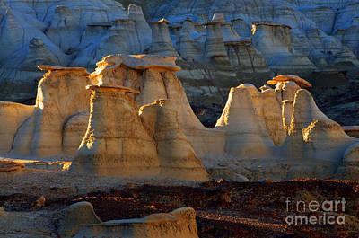 Photograph - Hoodoo Magic Bisti/de-na-zin Wilderness by Bob Christopher