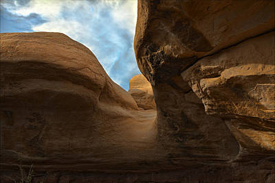 Photograph - Hoodoo Trail Shadows by Gregory Scott