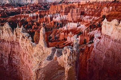 Photograph - Hoodoos At Bryce Canyon Just Before Sunrise by Vishwanath Bhat