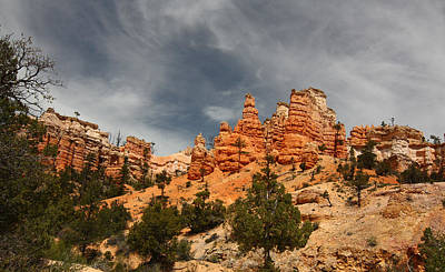 Hoodoos At Mossey Creek Trail Art Print