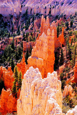 Hoodoos Of Faryland Canyon Art Print